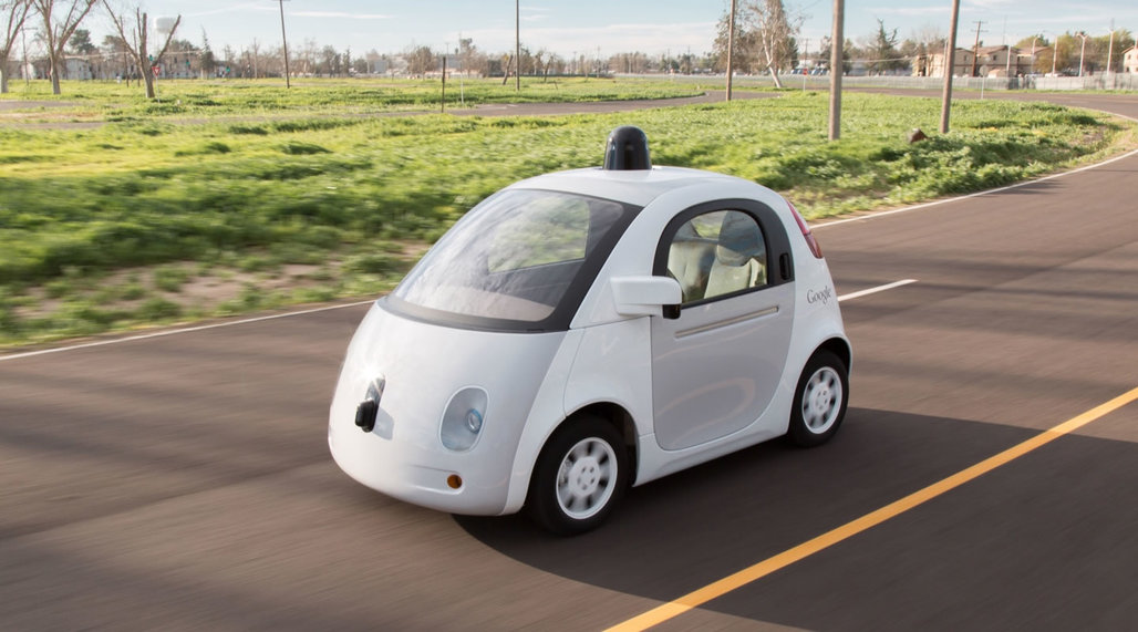 One of Googles new prototype self-driving cars. Credit: Google