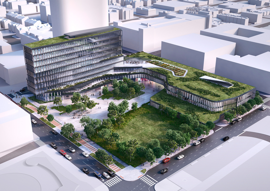 Deborah Berke Partners plan for the new Cummins Inc. distribution business headquarters in the heart of downtown Indianapolis. Image courtesy of Cummins Inc.