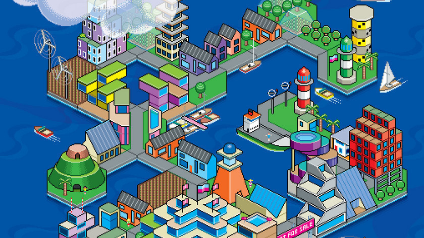 Could floating city-states free from government interference be the wave of the future? (Bloomberg; Illustration: Quickhoney/Bloomberg Pursuits)