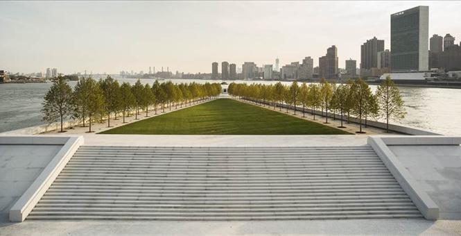 Photo: Franklin D. Roosevelt Four Freedoms Park © Paul Warchol