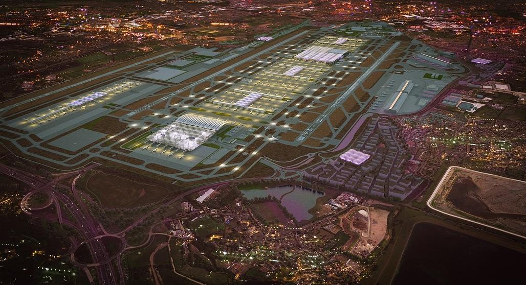 Grimshaws winning design for the Heathrow expansion - Image Heathrow/Grimshaw