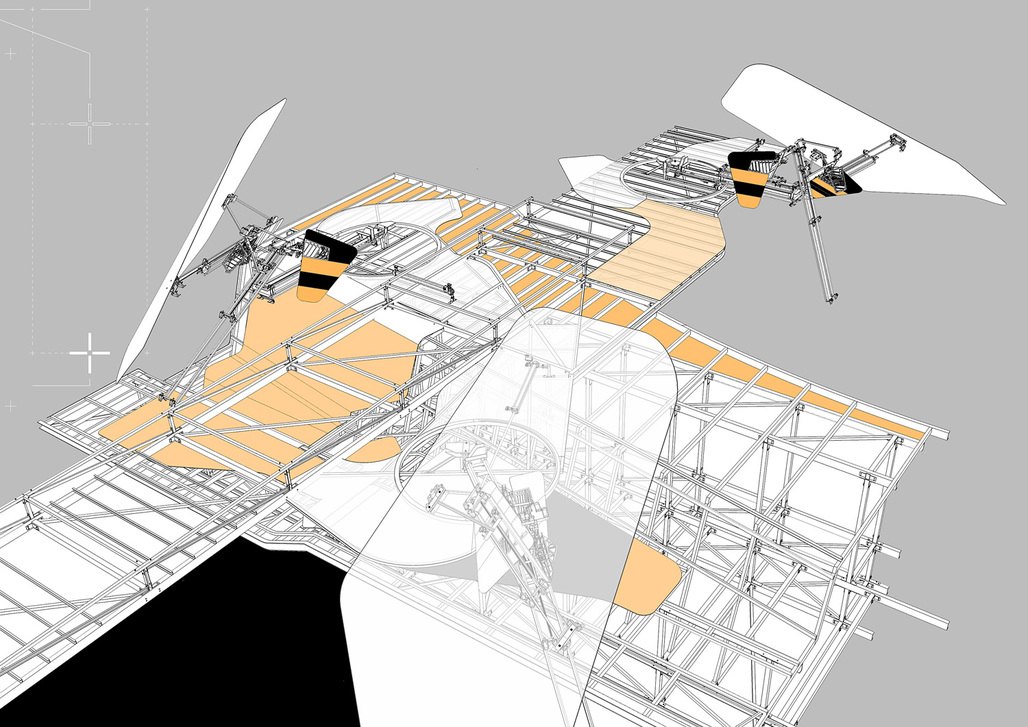 Superimposed Landscapes – Fragments of misperception by Andrew Walker. Image courtesy of The Bartlett School of Architecture