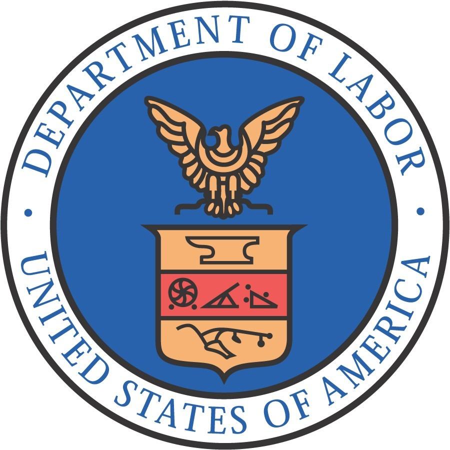 Department of Labor seal. Image via opm.gov.