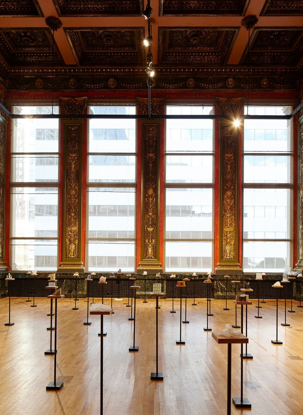 "Sou Fujimotos installation for the Chicago Biennial comprised a series of ""found architectures."" Credit: Tom Harris / Chicago Architecture Biennial"