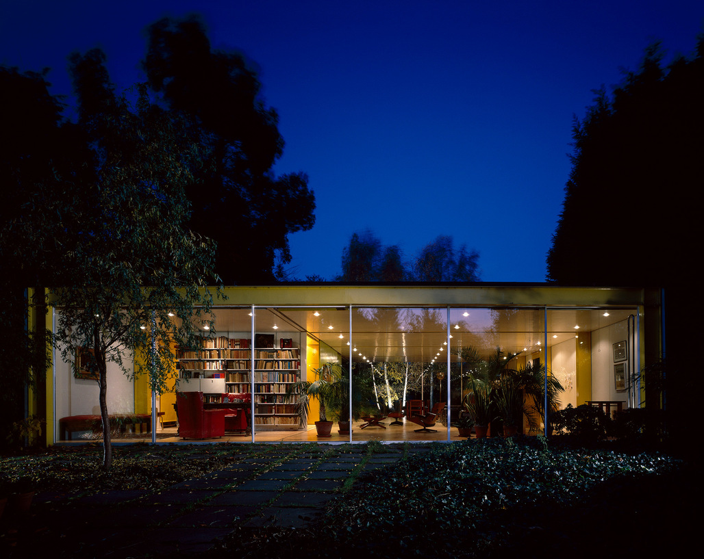 The Wimbledon House by Richard Rogers. Image via richardrogersfellowship.com