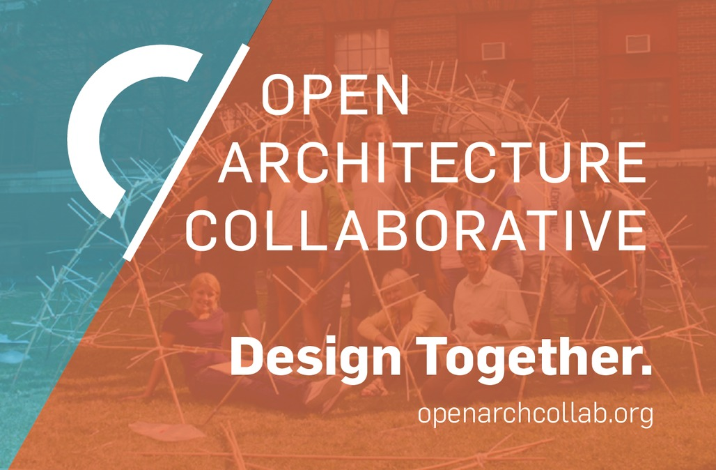 The newly launched OACs logo, motto, and outlook. Image: Open Architecture Collaborative.