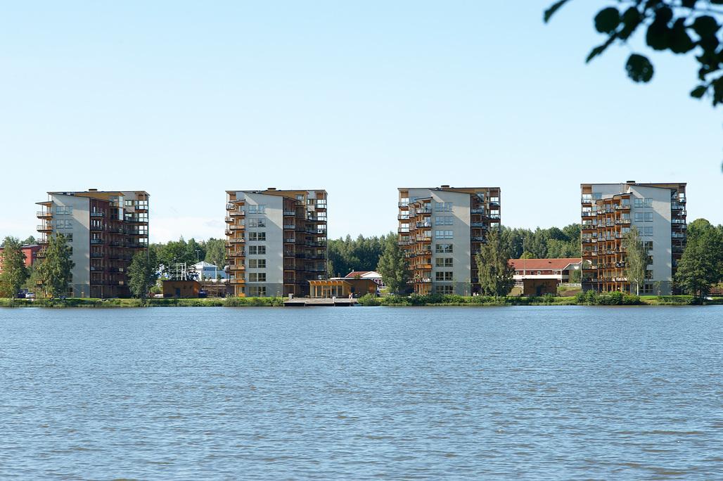 Limnologen in Växjö, Sweden by Arkitektbolaget Kronoberg. Photo credit: Midroc Property Development.