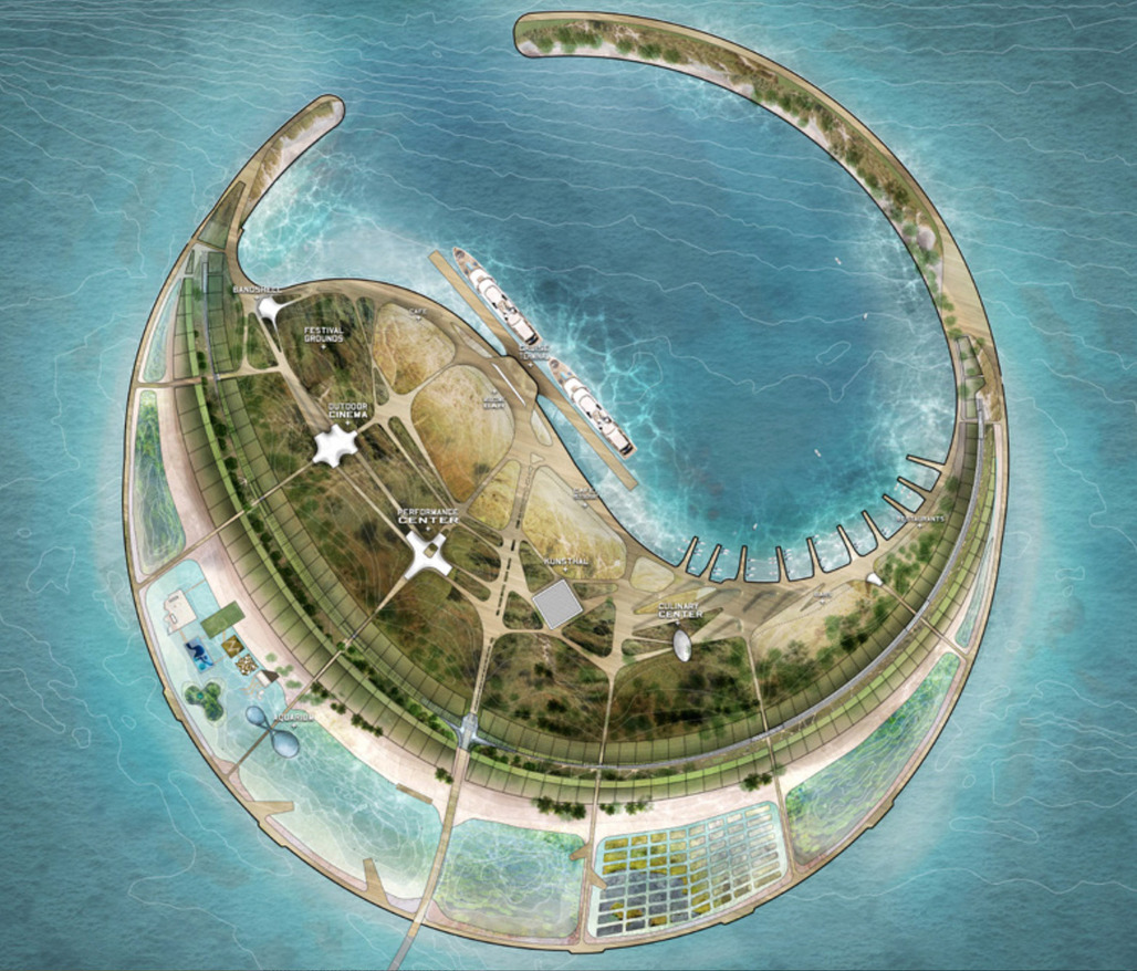 DS+Rs winning proposal for the South Sea Pearl Eco-Island development.