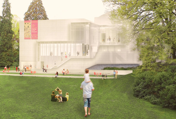 Rendering of LMNs expansion, courtesy of the Seattle Art Museum/LMN Architects.