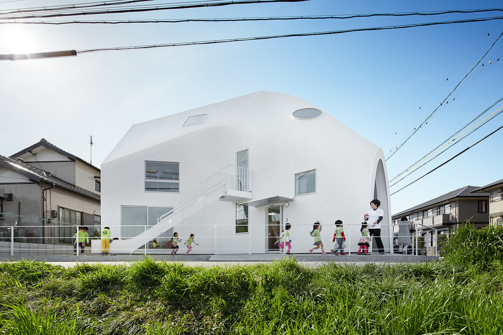 The newly built Clover House in Okazaki by MAD. Photo: Fuji Koji.
