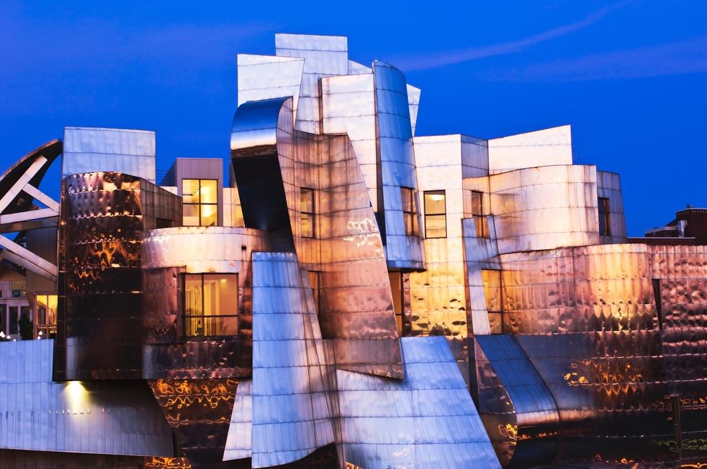 Gehrys Frederick R Weisman Art Museum, Minneapolis