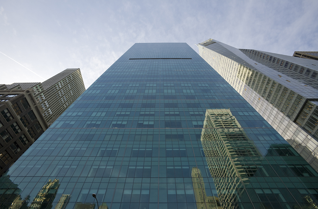 Redeveloped & reclad: 3 Bryant Park. (Photo: MdeAS Architects; Image via urbanomnibus.net)