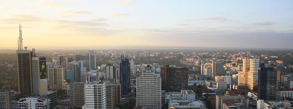 Skyline of Nairobi, Kenya. (Photo: Clara Sanchiz, via Wikipedia)