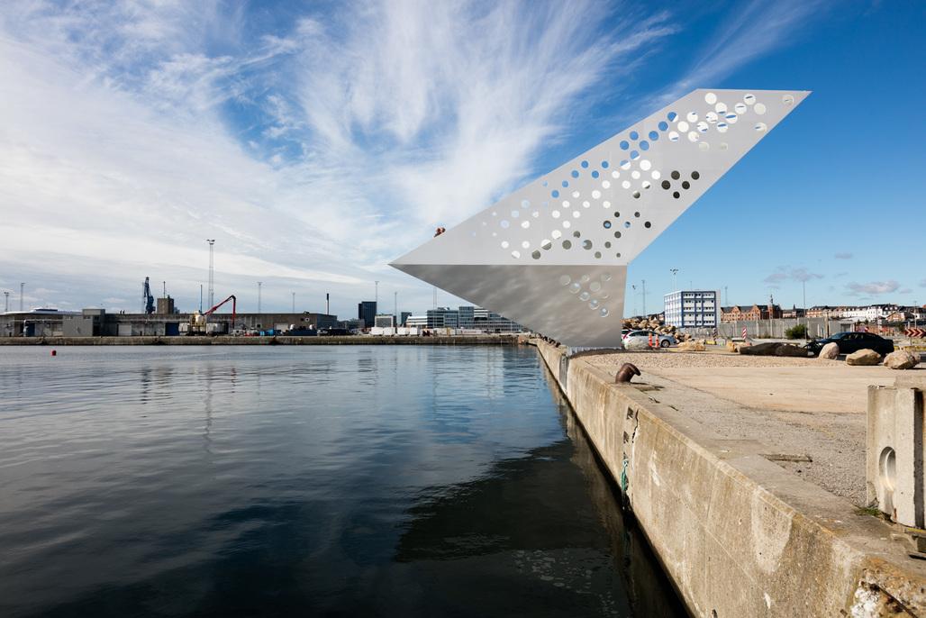 Ahoy, Aarhus! Dorte Mandrup Arkitekters Sailing Tower. Photo: Dorte Mandrup Arkitekter A/S.