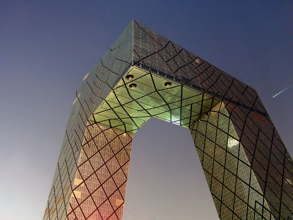 The CCTV headquarters designed by OMA has been derided in Beijing. Image via wikipedia.com