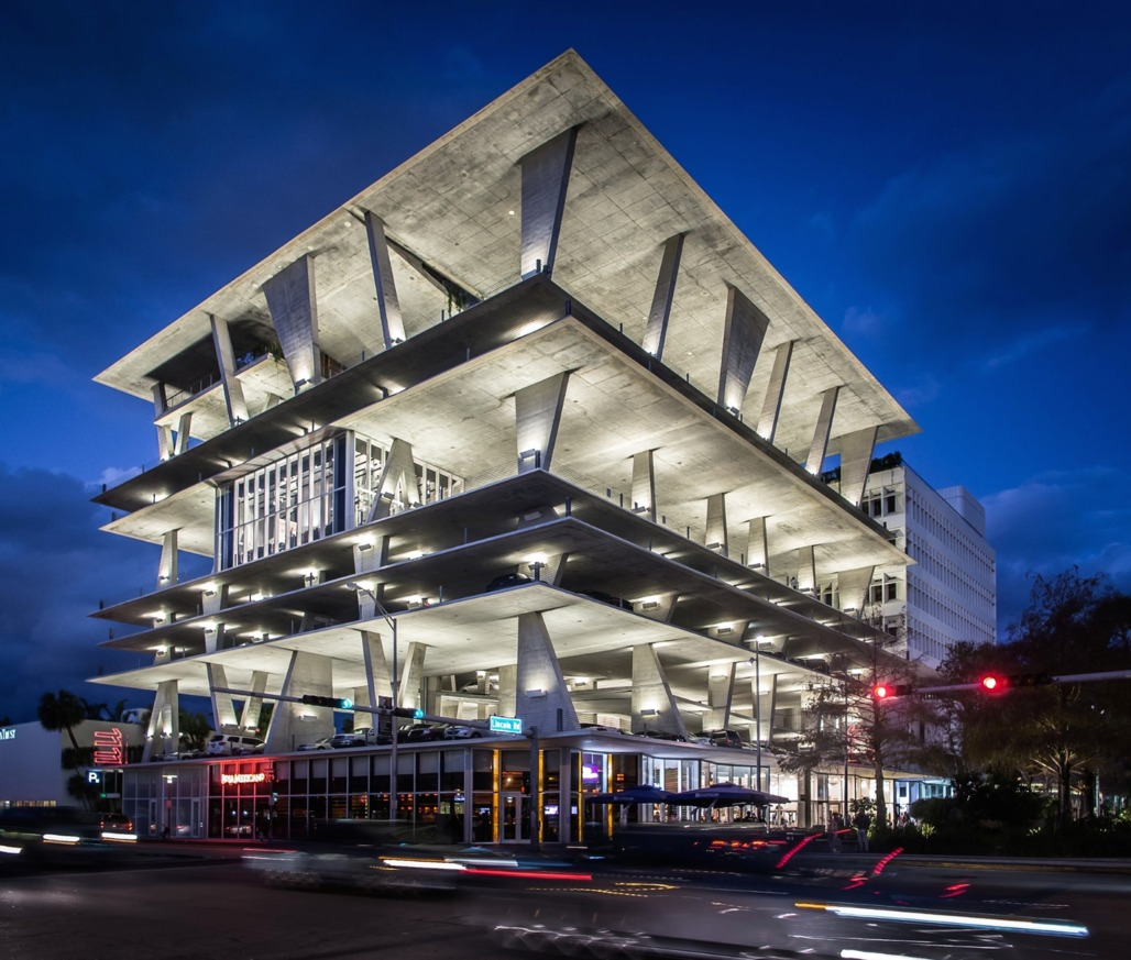 "1111 Lincoln Road by Herzog & de Meuron (credit: <a href=""http://georgexlin.com/2013/02/1111-lincoln-road-miami-by-herzog-de-meuron/"">George X. Lin</a>)"