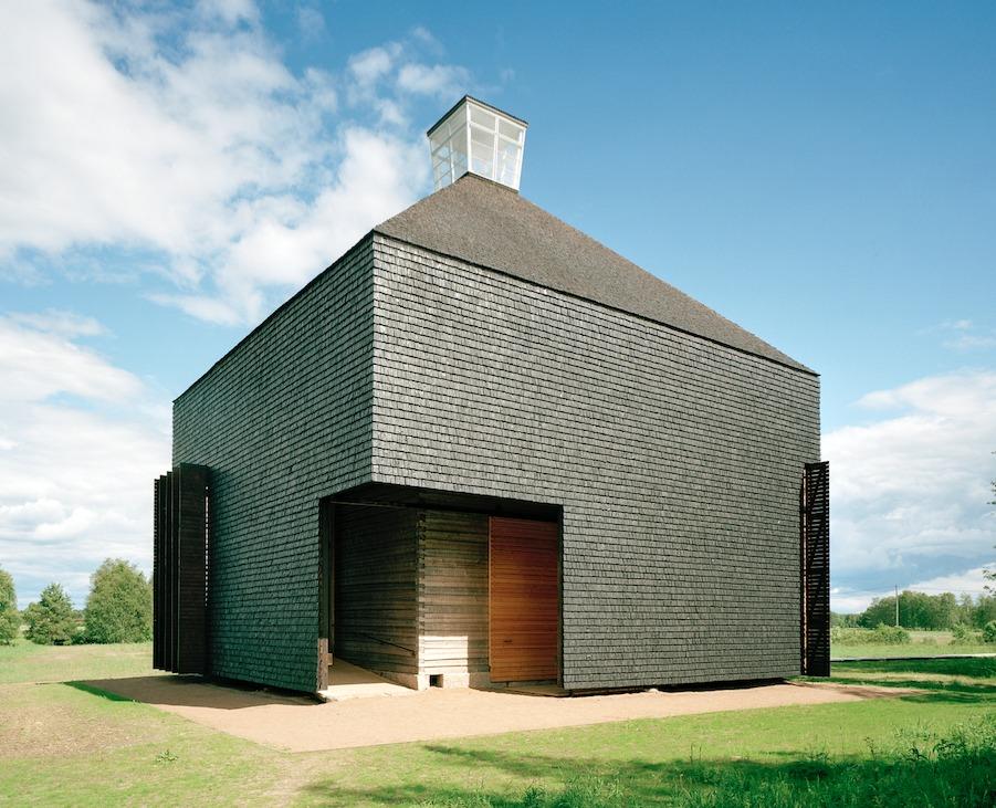 Kärsämäki Shingle Church. Photograph by Jussi Tiainen. Image Courtesy of Rice Design Alliance.