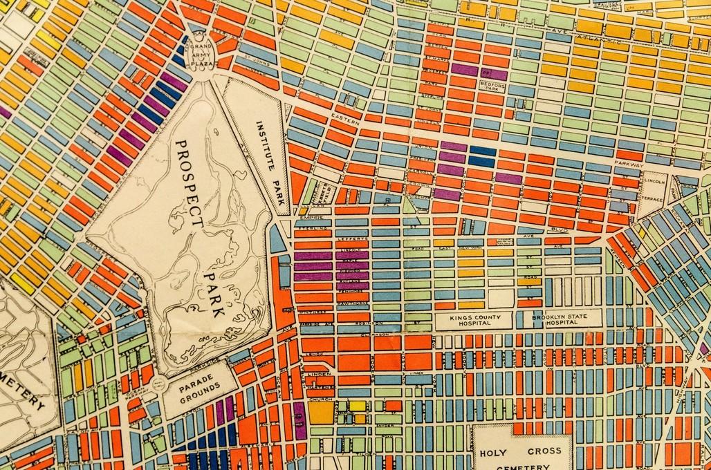 BRIC Arts Media House: Mapping Brooklyn. Image via edwardhblake/Flickr.
