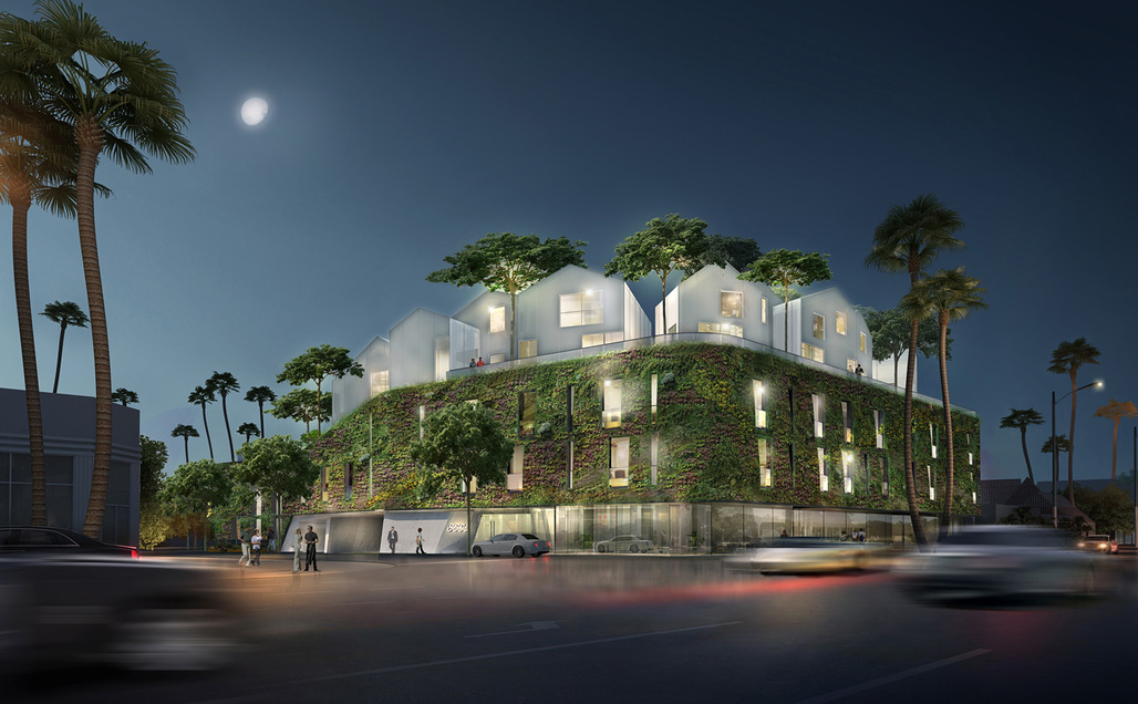 8600 Wilshire by MAD Architects. Image courtesy of MAD Architects.