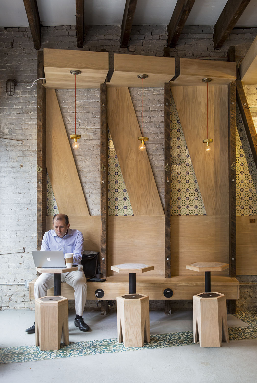 Iconic Cafe in New York, NY by studio vural; Photo: Kate Glicksberg