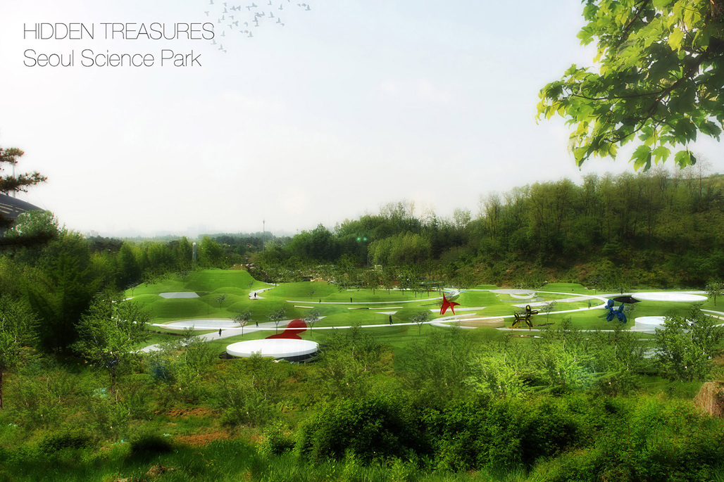 Honorable mention entry: Hidden Treasures - Seoul Science Park by Stefano Corbo.