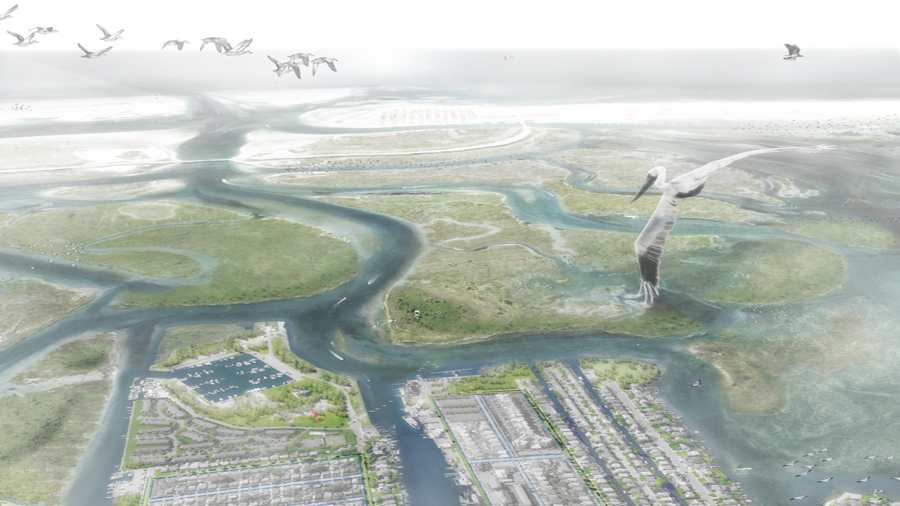 An image from the Interboro teams winning proposal for Nassau County /
