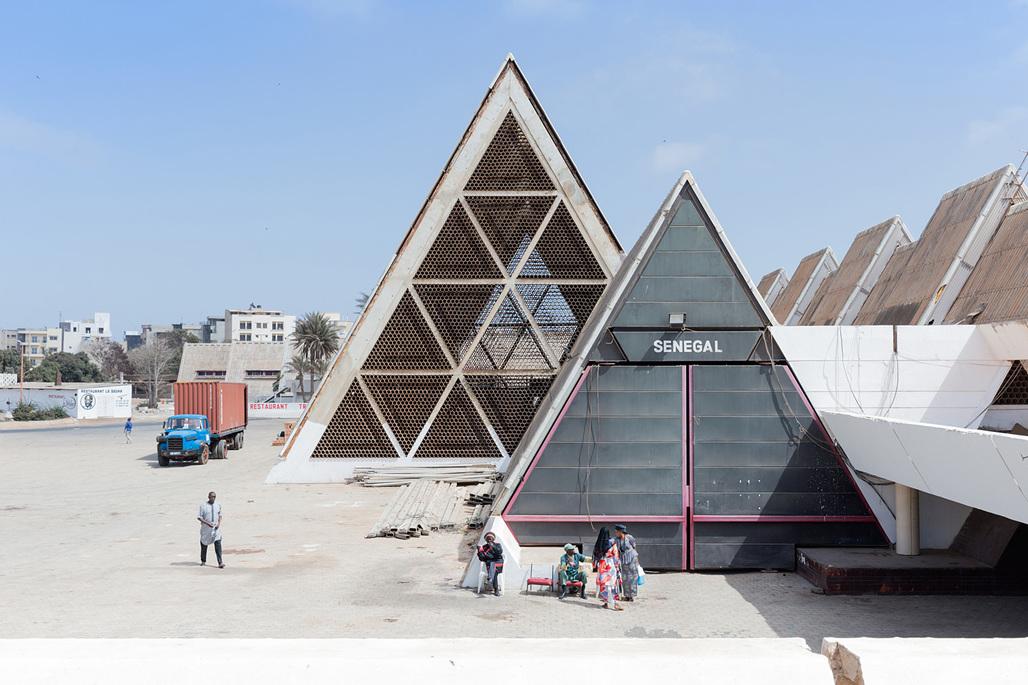 "From ""Architecture of Independence - African Modernism"": FIDAK - Foire Internationale de Dakar, Dakar (Senegal) by Jean Francois Lamoureux & Jean-Louis Marin, 1974. Photo © Iwan Baan."