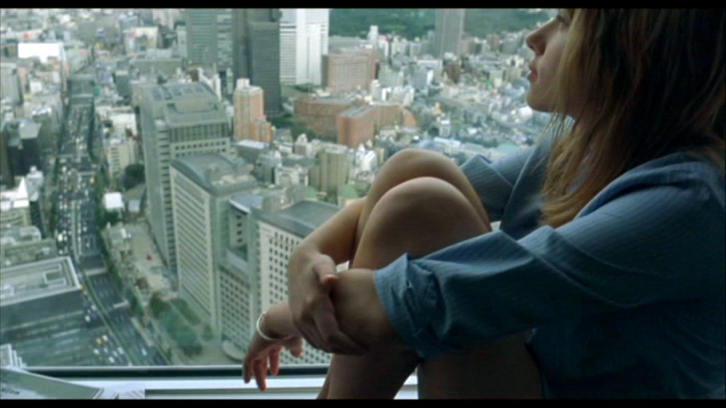 "Screenshot from 2003s ""Lost in Translation."""