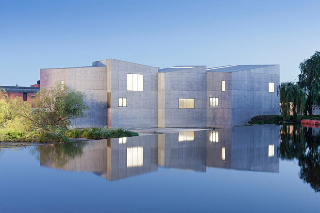 Judges Award - Best new public building: Hepworth Wakefield, UK, by David Chipperfield Architects (Image via Wallpaper*, Photo: Iwan Baan)