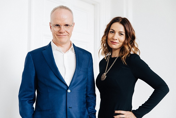 Hans Ulrich Obrist and Yana Peel will work in partnership after co-director Julia Peyton-Jones steps down from her post. Photo © Kate Berry.