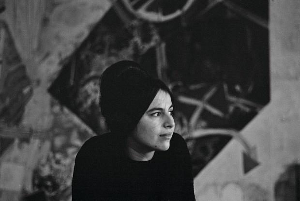 Eva Hesse. Photo by Barbara Brown circa 1963