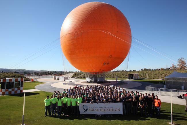 Solar Decathlon 2013 Team Photo. Courtesy of U.S. Department of Energy