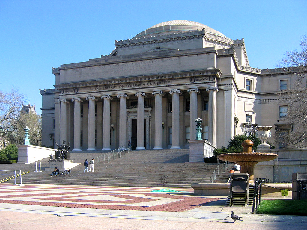 The Low Memorial Library at Columbia University. Image via wikimedia.org
