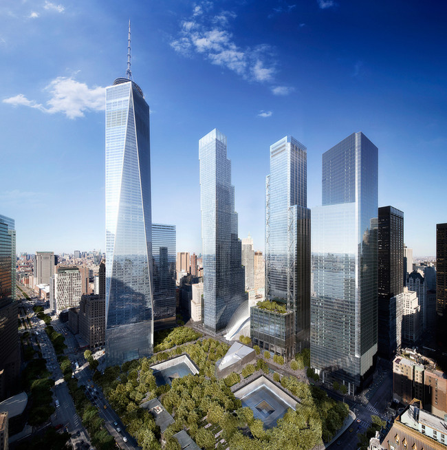 BIGs renderings of the new Two World Trade Center (via WIRED Magazine)