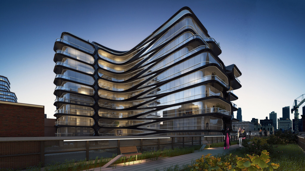 Zaha hadid architects commissioned to design high line for Top architects in usa
