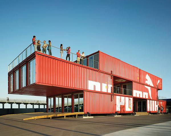 Ada Tolla & Giuseppe Lignano: Puma City, 2008, by LOT-EK; photo credit Danny Bright