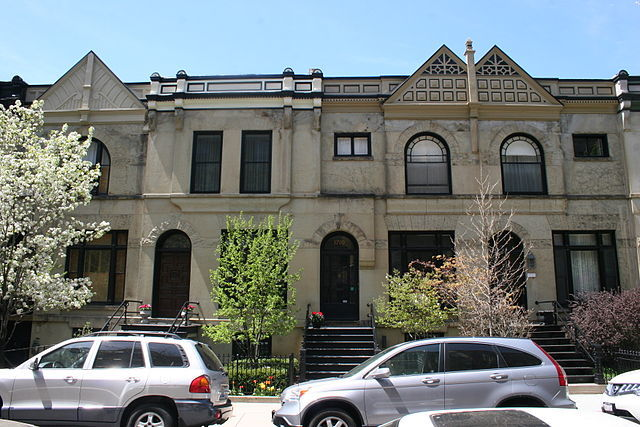 The Henry Gerber House in Chicago, the second LGBT-related site that was designated a U.S. National Historic Landmark. Photo by Thshriver, via Wikipedia.