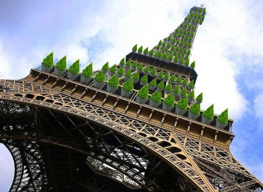 Eiffel Tower Tree