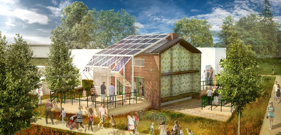 Prêt-à-Loger model home in Honselersdijk. Image © Prêt-à-Loger
