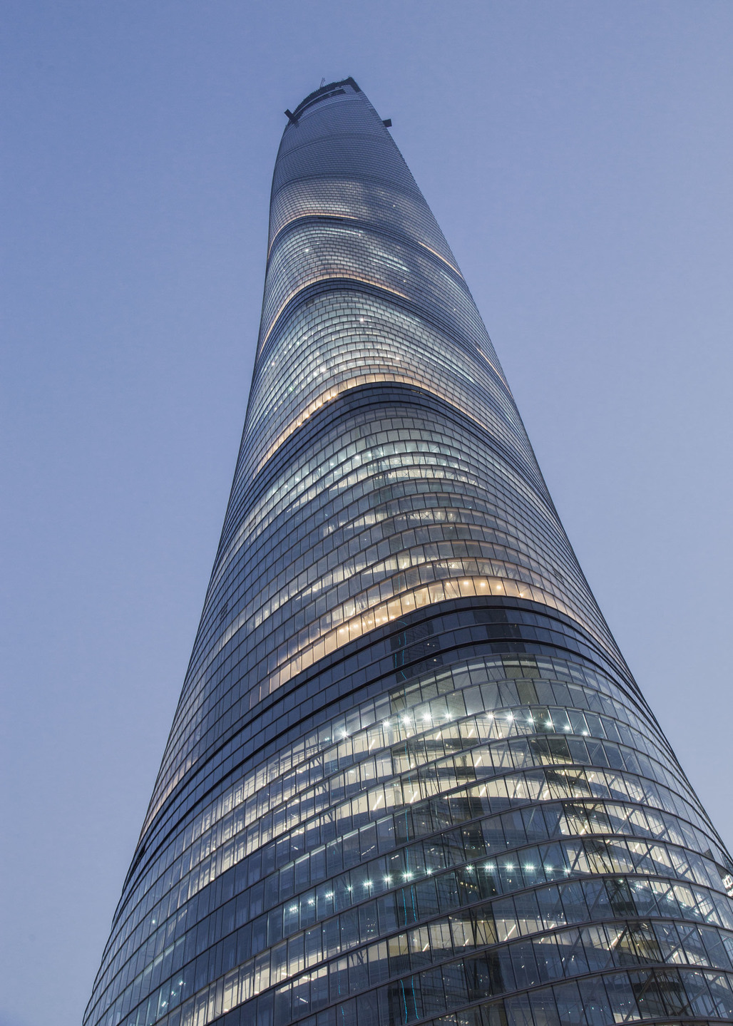 A tall picture for a tall building. Photo courtesy of Gensler.