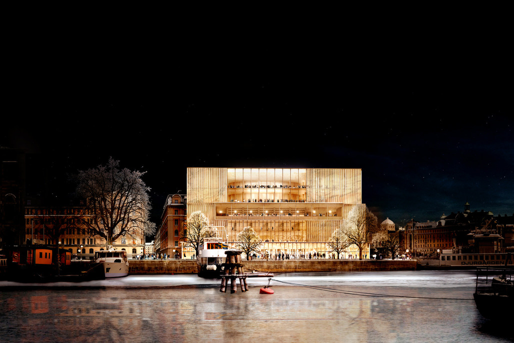 David Chipperfields winning design for the Nobel Center in Stockholm © David Chipperfield Architects