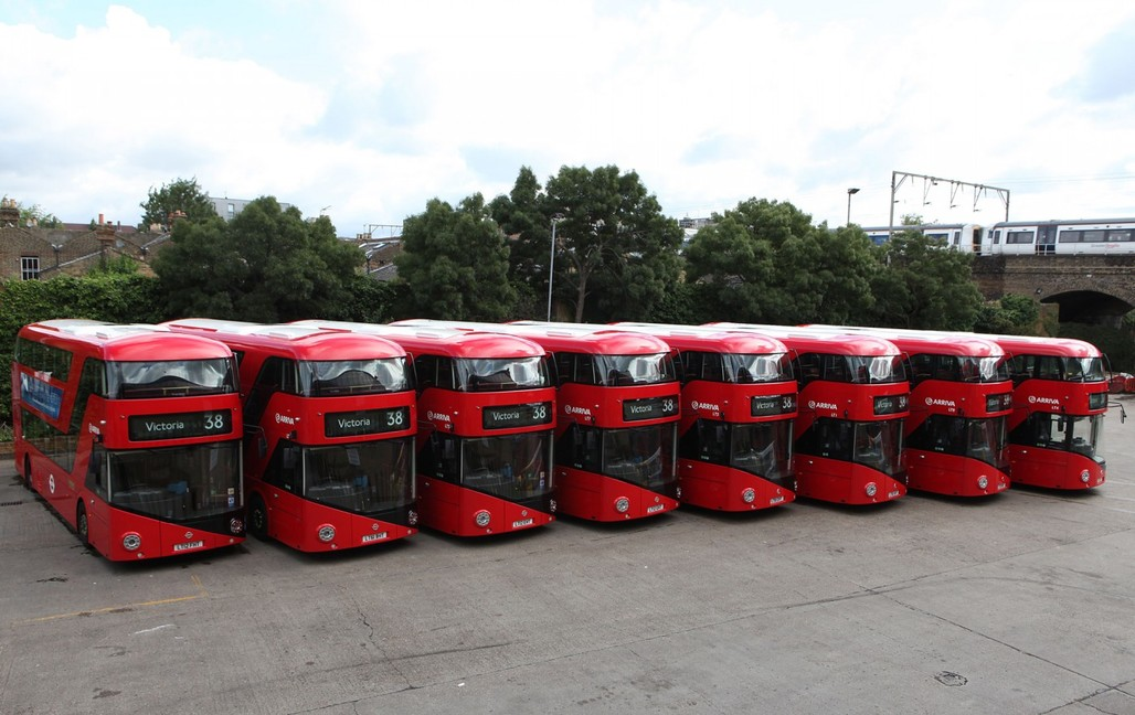 "Heatherwicks cancelled ""New Bus for London."" Image: Heatherwick Studio"