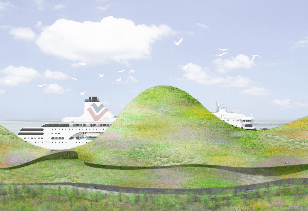 1st prize entry by Junya Ishigami + Associates/ Junya Ishigami WITH Bio Architecture Formosana Architecture / Ching-Hwa Chang
