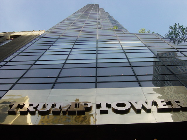 One of Swanke Hayden Connells key projects was the 1983 Trump Tower on Fifth Avenue in Manhattan. Photo: Kowloonese via Wikipedia