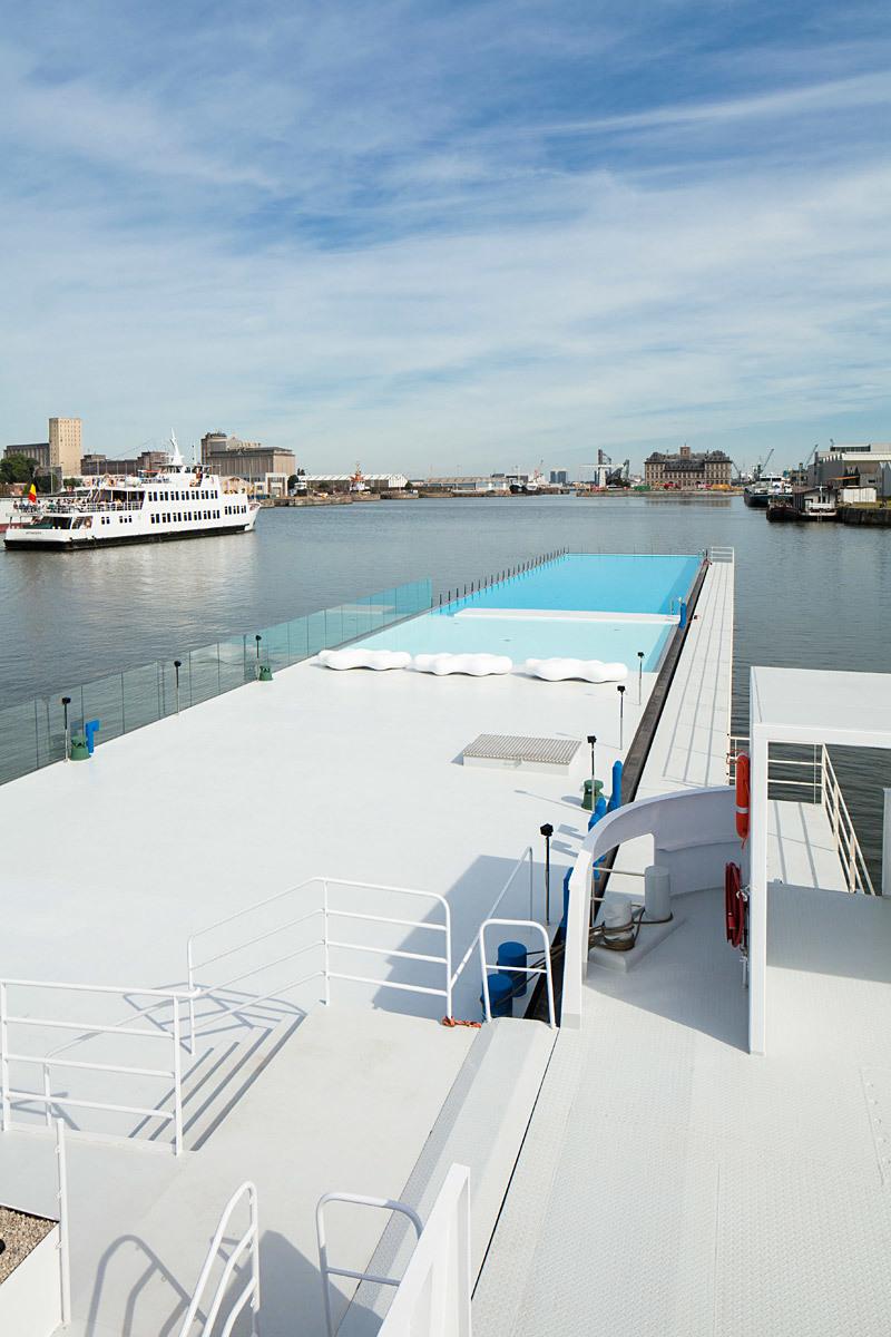 Badboot Lido in Antwerp, Belgium, designed by Sculp (IT)