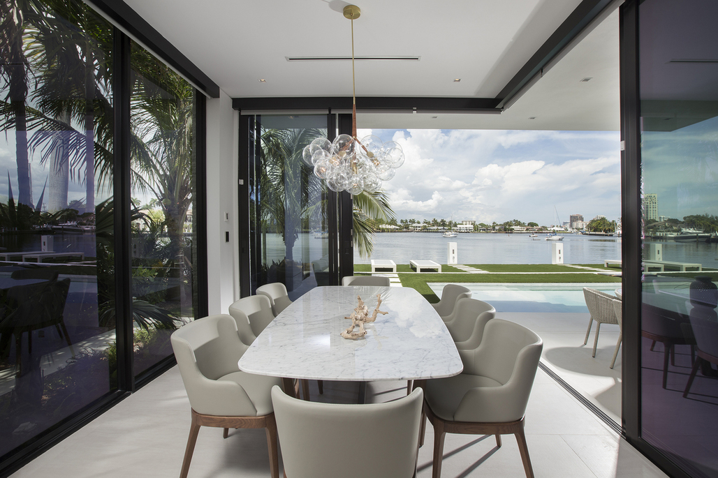 Contemporary Waterfront Elegance by DKOR Interiors.