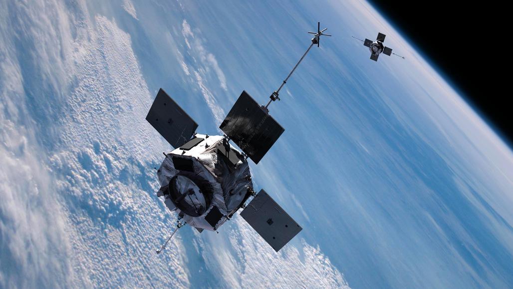 Satellite, image via NASA