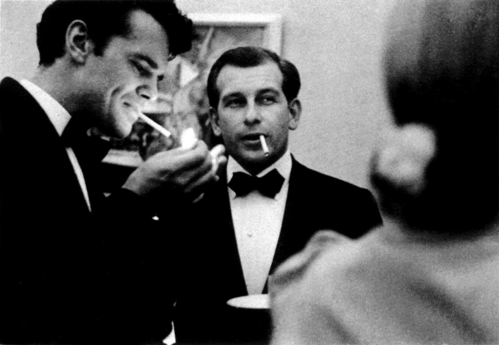 Eero Saarinen and Charles Eames.