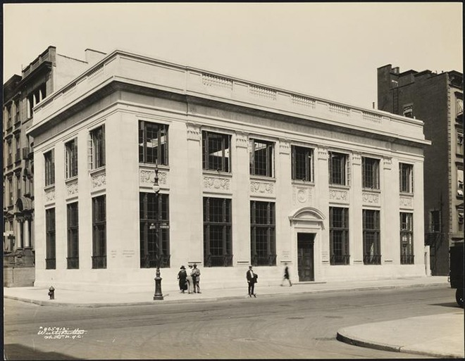 United States Mortgage and Trust Company building at the corner of East 74th Street and Madison Avenue