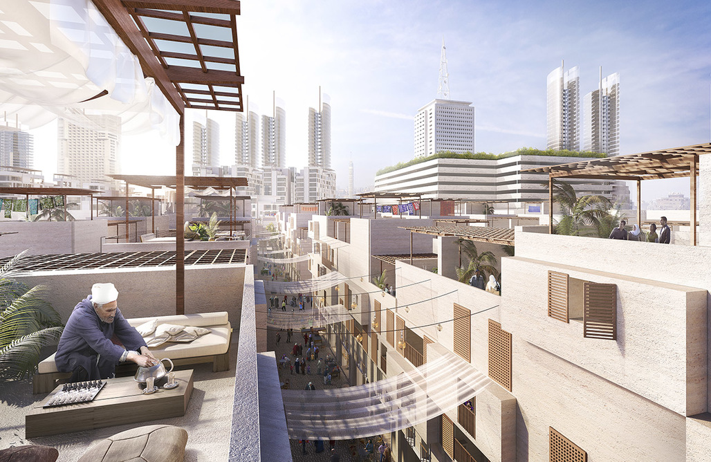Foster + Partners just won a competition to redevelop the Maspero neighborhood in Cairo. But their plans fail to mention the importance of the area in the recent history of Egypt, or the current political context. Credit: Foster + Partners